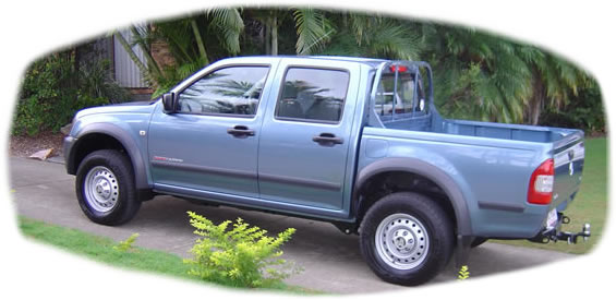 4WD Holden Rodeo 2004
