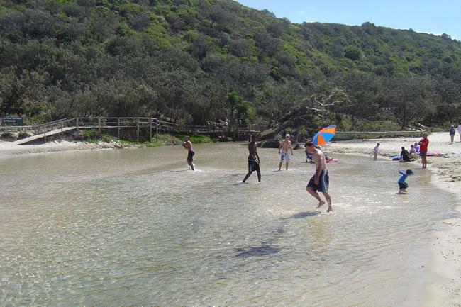 Fraser Island Low Tide